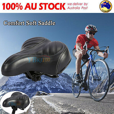 Wide Big Bum  Bike Bicycle Sprung Saddle Seat Spring Comfort Cycling Outdoor NEW