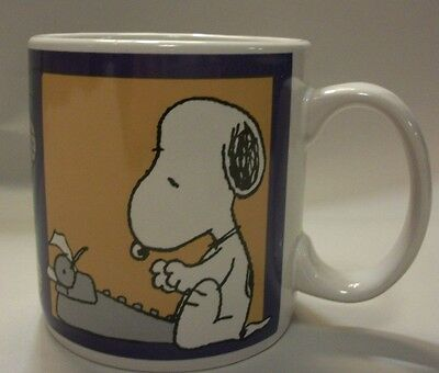 Peanuts Snoopy and Linus Coffee Mug