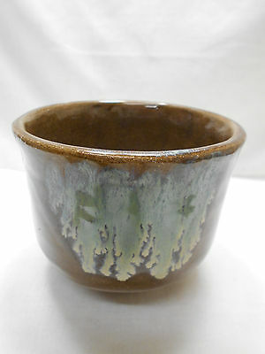 Japanese Tea Ceremony Pottery Bowl Chanoyu Traditional Vintage  #129