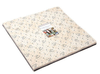 Quilting Fabric Moda Layer Cake- Snowman Gatherings - Closing Down Save $$$$