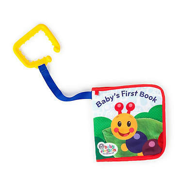 Baby Einstein Explore & Discover Learning Easy Grasp Teething Soft Book Toy