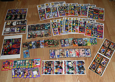 Super Nintendo Power Club Challenge Trading Cards - Uncut Sheets Collection SNES