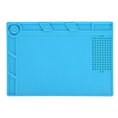13.7 x 9.8 inch Magnetic Screw Repair Mat Heat Insulation Silicone Repair T K8X4