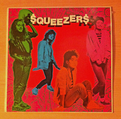 "SQUEEZERS  "" I Am Just A Rock'N' Roller "" - Vinyl maxi 12"" - DB 001 - 1987 Spain"