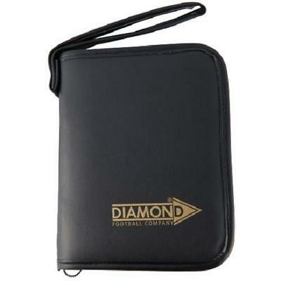 Deluxe Referee Case by Diamond Football. Red / Yellow Plastic Cards A5 Size