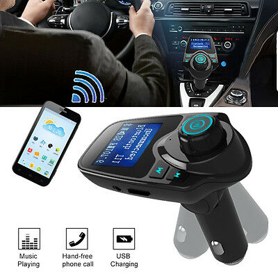 Bluetooth Car MP3 Player FM Transmitter Wireless Radio Adapter USB Aux Charger