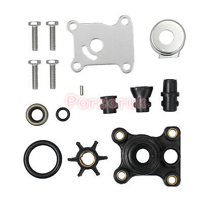 9.9hp & 15hp Water Pump Impeller Repair Kit Housing For Johnson Evinrude 394711