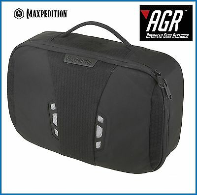 Maxpedition Advanced Gear Research Lightweight Toiletries Bag Black LTBBLK