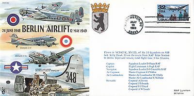JS(CC)62a Berlin Airlift (Blockade)Flown in VC 10 of No 10 Sqn on VIP task Kitty