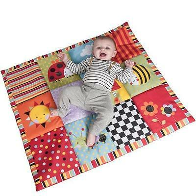 Red Kite Baby Play Mat Playmat Padded Tummy Time Garden Gang