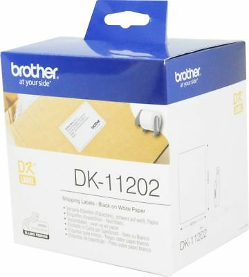 300 Brother DK-11202 Versandetiketten 62mm x 100mm P-touch