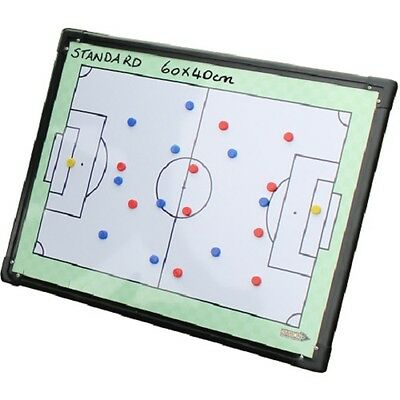 Diamond Double Sided Standard Tactic Board - Managers Coaches Counters 60x40cm