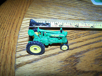 """John Deere Toy Tractor Model """"unstyled B"""" 1/64 Scale Never Played With"""
