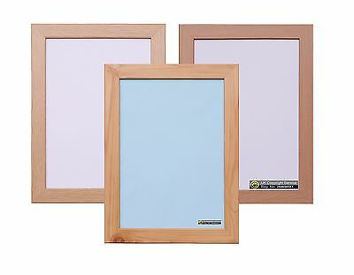 Natural Colour Large Photo Picture Frame Wall Hanging Decor Poster College Frame
