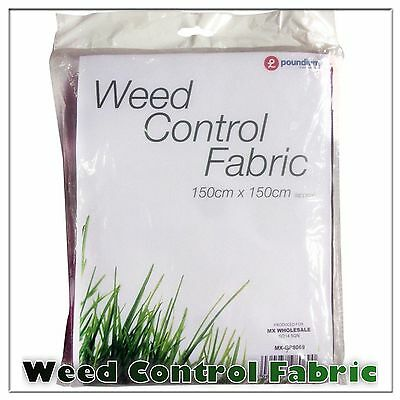 Weed Control Fabric Membrane Ground Sheet Garden Gardening