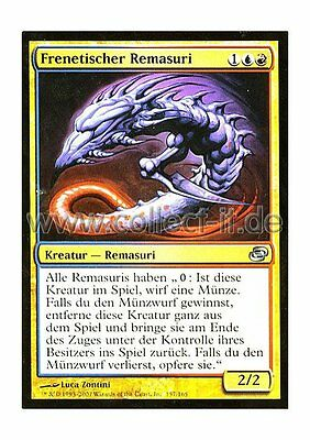 MTG Magic the Gathering - 157 Frenetischer Remasuri