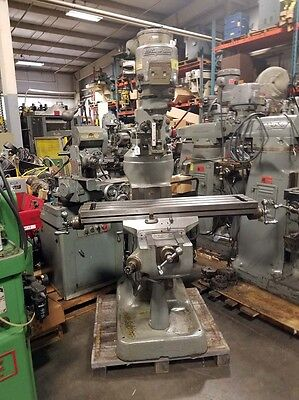 Bridgeport Vertical Milling Machine with 42 Inch Table (Inv.36495)