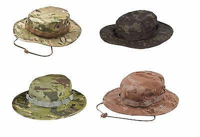 Mil-Spec Multicam Boonie Hat 50/50 Nyco Ripstop made by Tru-Spec