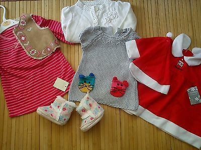 33x NEW USED AUTUMN WINTER BUNDLE OUTFITS GIRL 3/6 MTHS 6+ PHOTOS IN DESRIPTION4