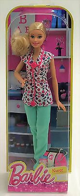 Mattel DMP54 Barbie Careers 30cm Doll - NURSE Barbie (Blonde Hair)