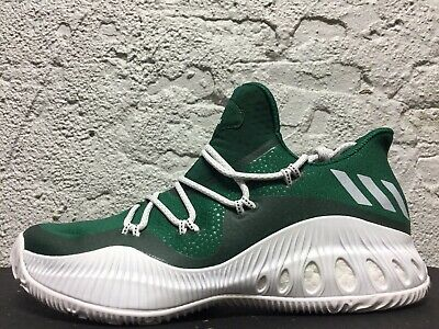 new style a8e18 6827a New Men s ADIDAS Crazy Explosive Low - BY3246 - Green White Basketball Shoe