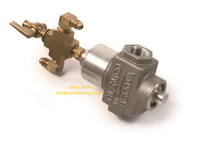 """Clemco 1/2""""  Inlet Valve For Tlr 50 Remote Control Systems #02164"""