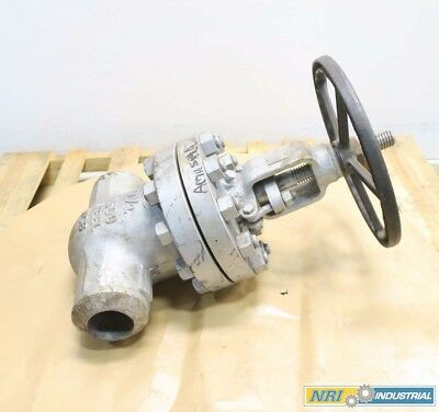 Oic 2-1/2 In 1500 Steel Butt Weld Wedge Gate Valve D567601