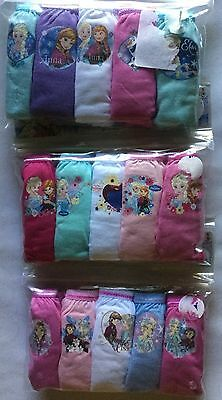 Baby Girls Briefs with Disney Frozen detail in size 18-24 months and 3 Varieties