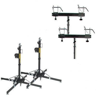 Global Truss ST-157 Value Package 2 Lifts and 2 Truss Adaptors