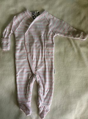 Bonds Baby Girls Newbies Long Suit BNWT Match Me Clips Size 000
