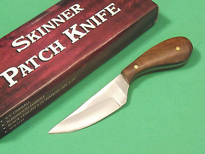 "SKINNER PATCH KNIFE DH7991 Brown wood full tang blade 4 3/8"" overall PA7991 NEW!"