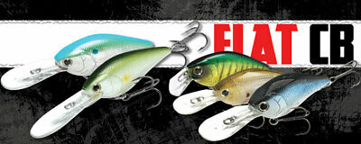 Discontinued Lucky Craft Flat CB DR,AG Golden Shiner
