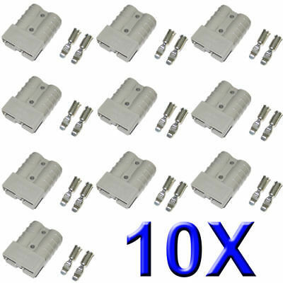 10X-50AMP-Premium-Exterior-Anderson-Plug-Style-Connector-DC-Power-12-24V