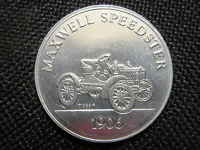 Sunoco DX Franklin Mint Antique Car Coin Series 2 1906 Maxwell Speedster