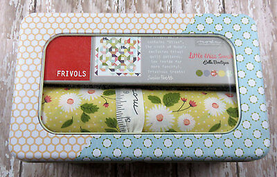 Quilt Kit - Moda Frivol- Little Miss Sunshine - Kit In A Tin + More