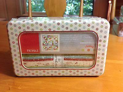 Quilt Kit - Moda Frivol- The Cookie Exchange - Kit In A Tin + More