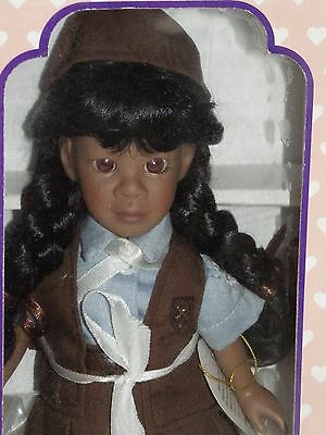 Black Doll *mint*nib*new Nvrd Opend* Effanbee Girl Scouts Of Usa Brownie V1007Aa