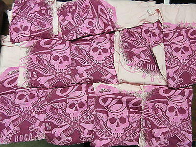 New - 10X Wholesale Lot Poison Bret Michaels Concert Music T-Shirt Girls Large