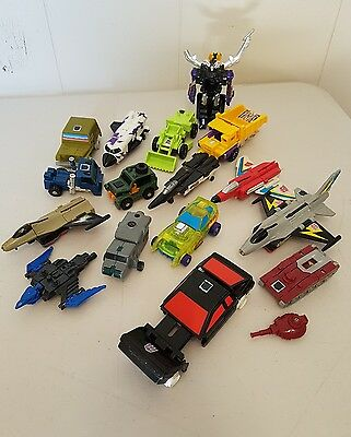 Transformers G1 Mini Bot Lot For Parts Only