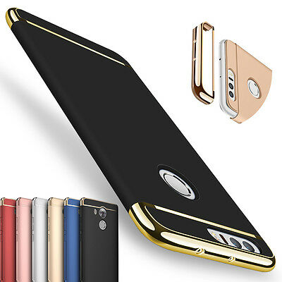 Ultra thin Hard Case Full Protector Cover For Huawei P8 P9 P10 lite