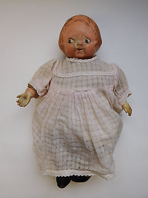 Antique Horsman 1910 Campbell Kid Doll Cloth & Composition