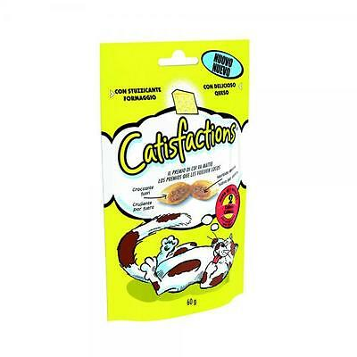 CATISFACTION pour collations de chat fromage 60 gr Friandises chats