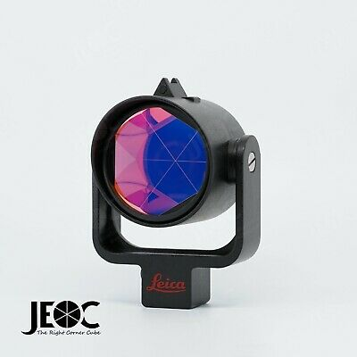 High Accuracy Monitoring Prism, Reflector w Metal Holder, replace Leica GPR121
