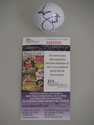 ADAM SCOTT Hand Signed MASTERS Golf Ball  + JSA COA  *BUY GENUINE*