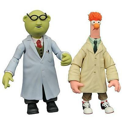 The Muppets - Bunsen And Beaker Action Figure Set - New & Official Disney