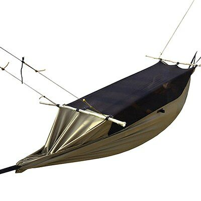 Mosquito Net Hammock Waterproof Portable Outdoor Camping Bed 1 One Person Tent