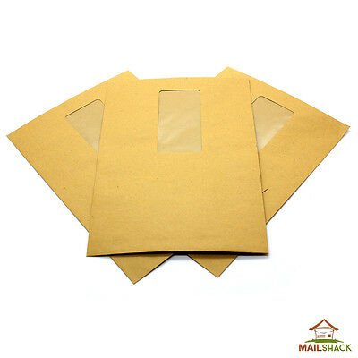 Pocket Manilla C5 Envelopes 80gsm Gummed Window HIGH QUALITY