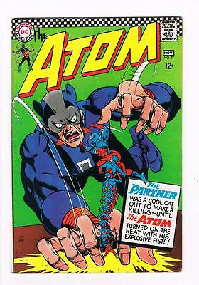 Atom 27 # Beauty and the Beast-Gang ! Kane cover grade 7.0 scarce book !