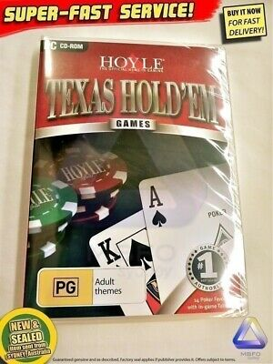 Hoyle Texas Holdem + $30 BONUS (New!) PC Windows XP Vista card computer software