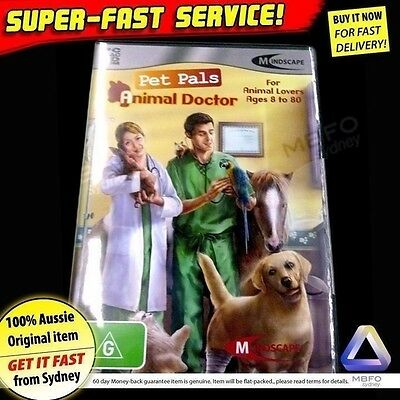 PET PALS (NEW!) Vet game for Windows PC Computer software animals kids toys petz